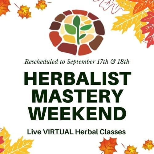 Become an Herbalist Weekend